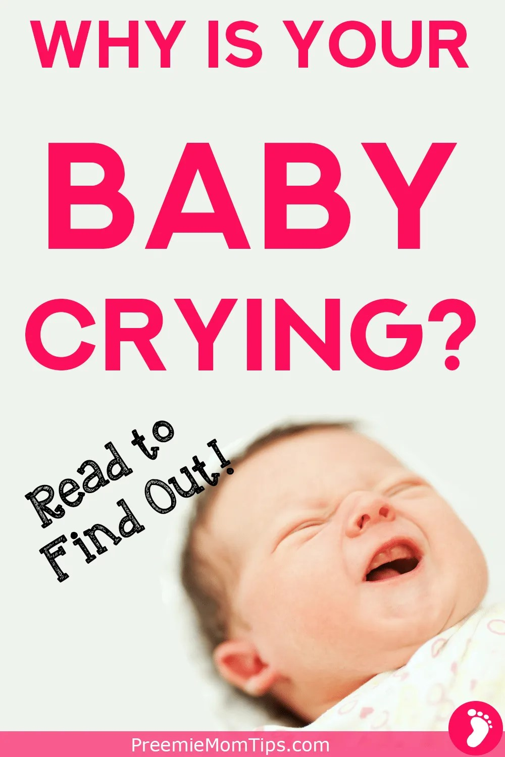 Being a new parent can be hard! Especially if your newborn baby is crying and you don't have any idea why!? Learn to talk baby language and identify why your baby is crying by clicking here!