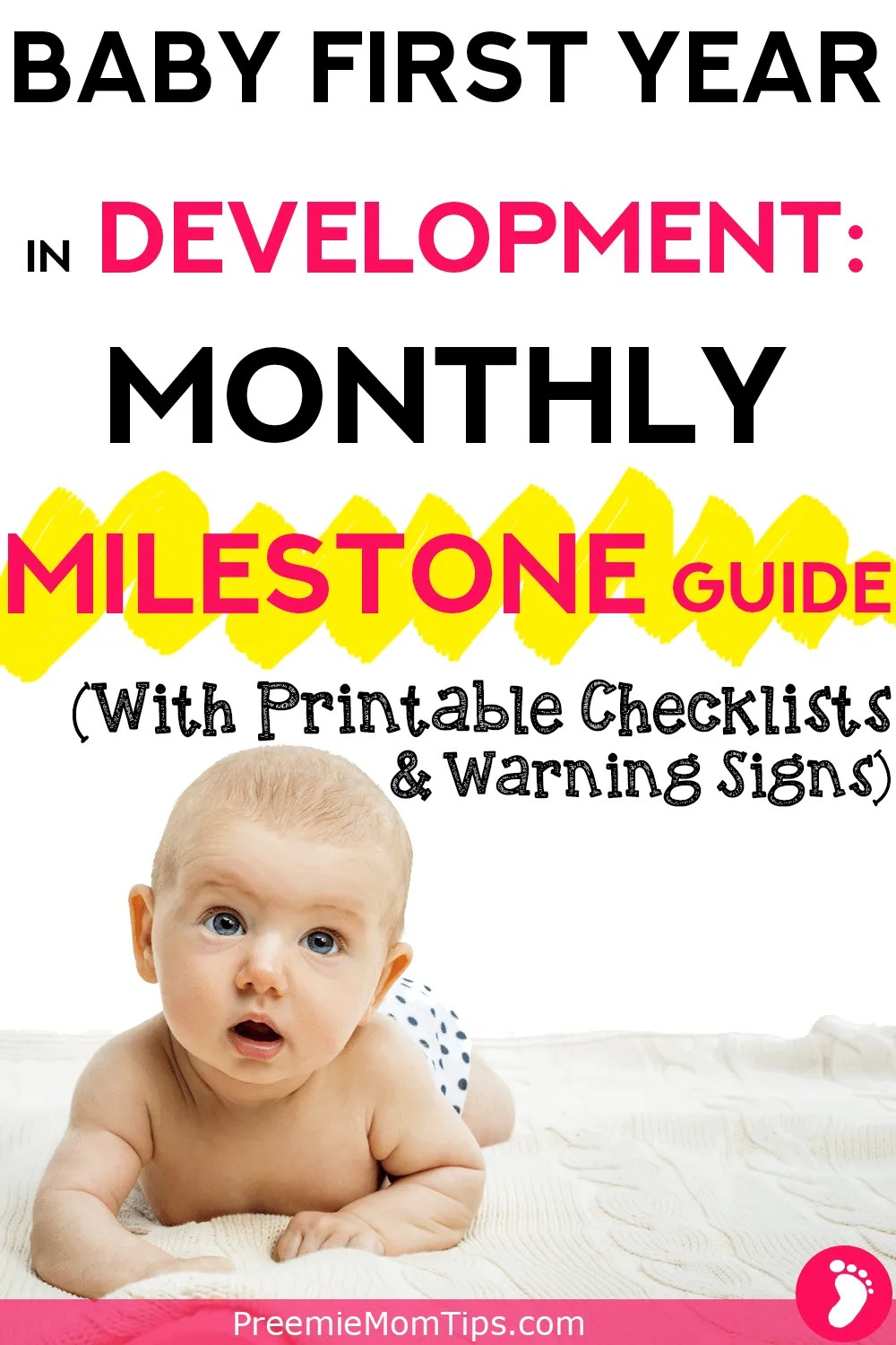 Understand your baby's development stages with this guide to baby milestones by month.