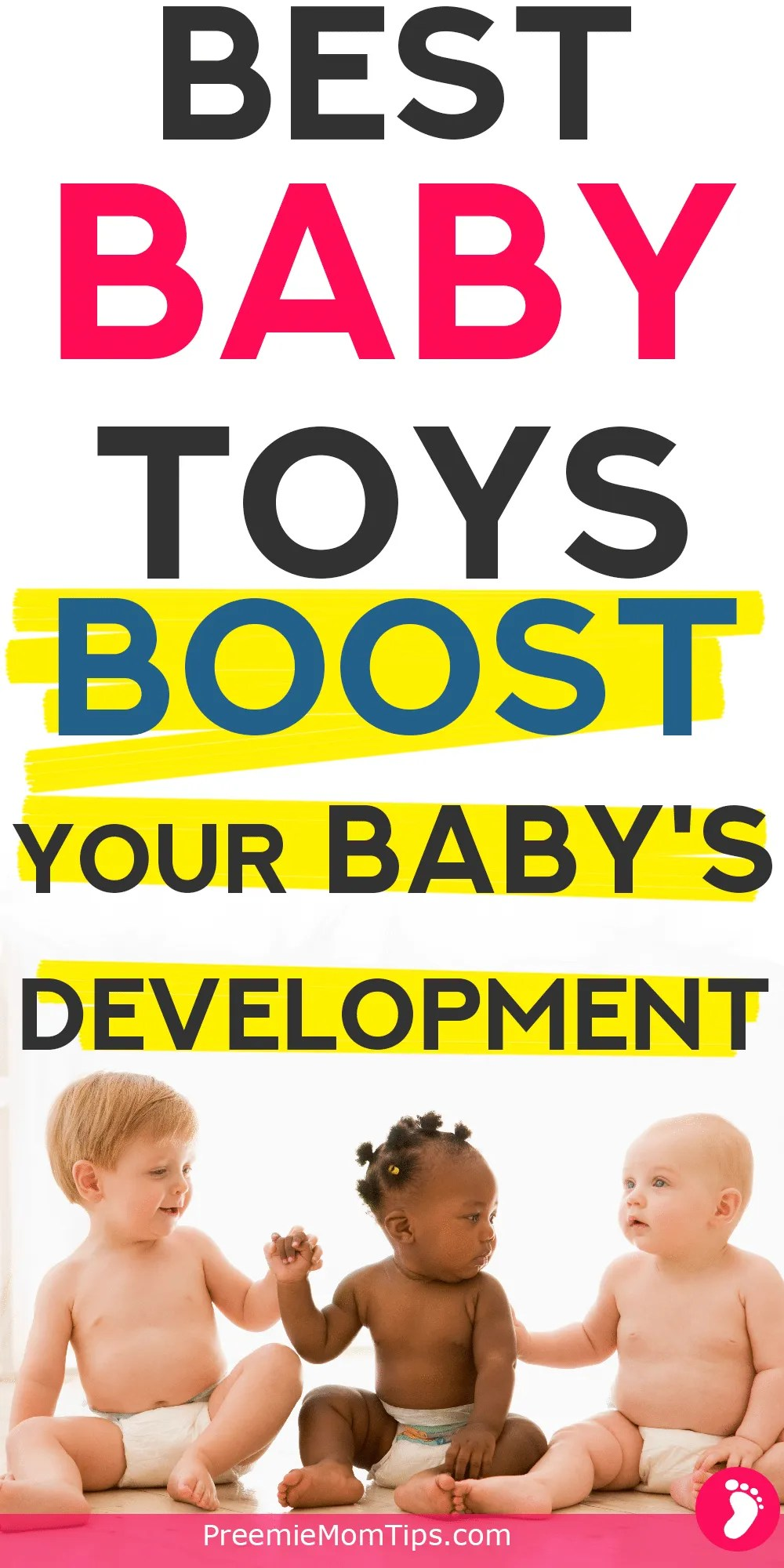 Check out the best baby toys for development every mom should get during their baby's first year! Boost your baby's brain with these wonderful toys.