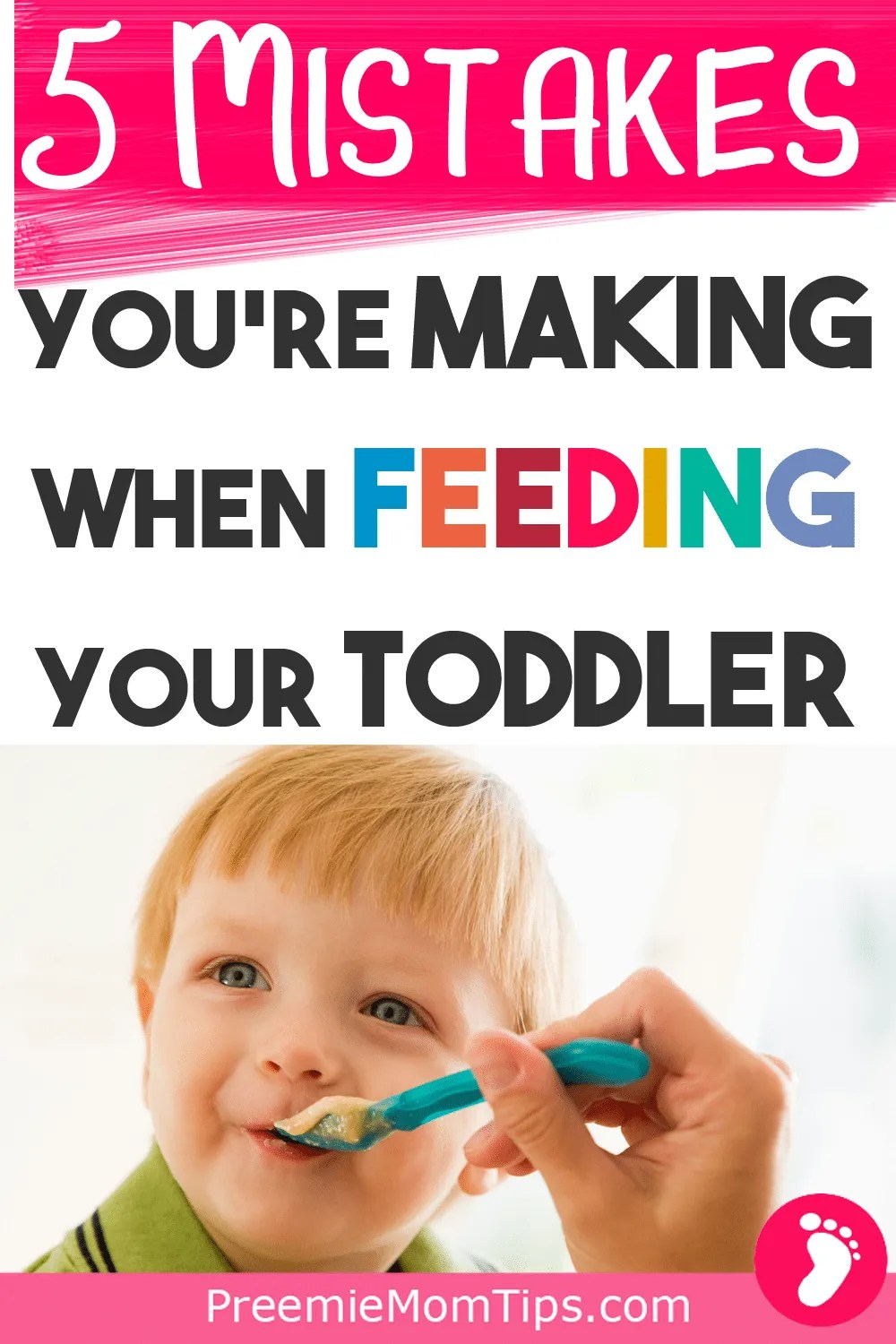 I love this! Parenting toddlers can be challenging, but parenting picky eater toddlers is a whole new level! As parents, we some times fall into a bit of a desperation trying to get our children to eat... and some times we make mistakes. Here are the top mistakes we made when feeding our toddler. #toddler #toddlermom #pickyeater #terribletwos