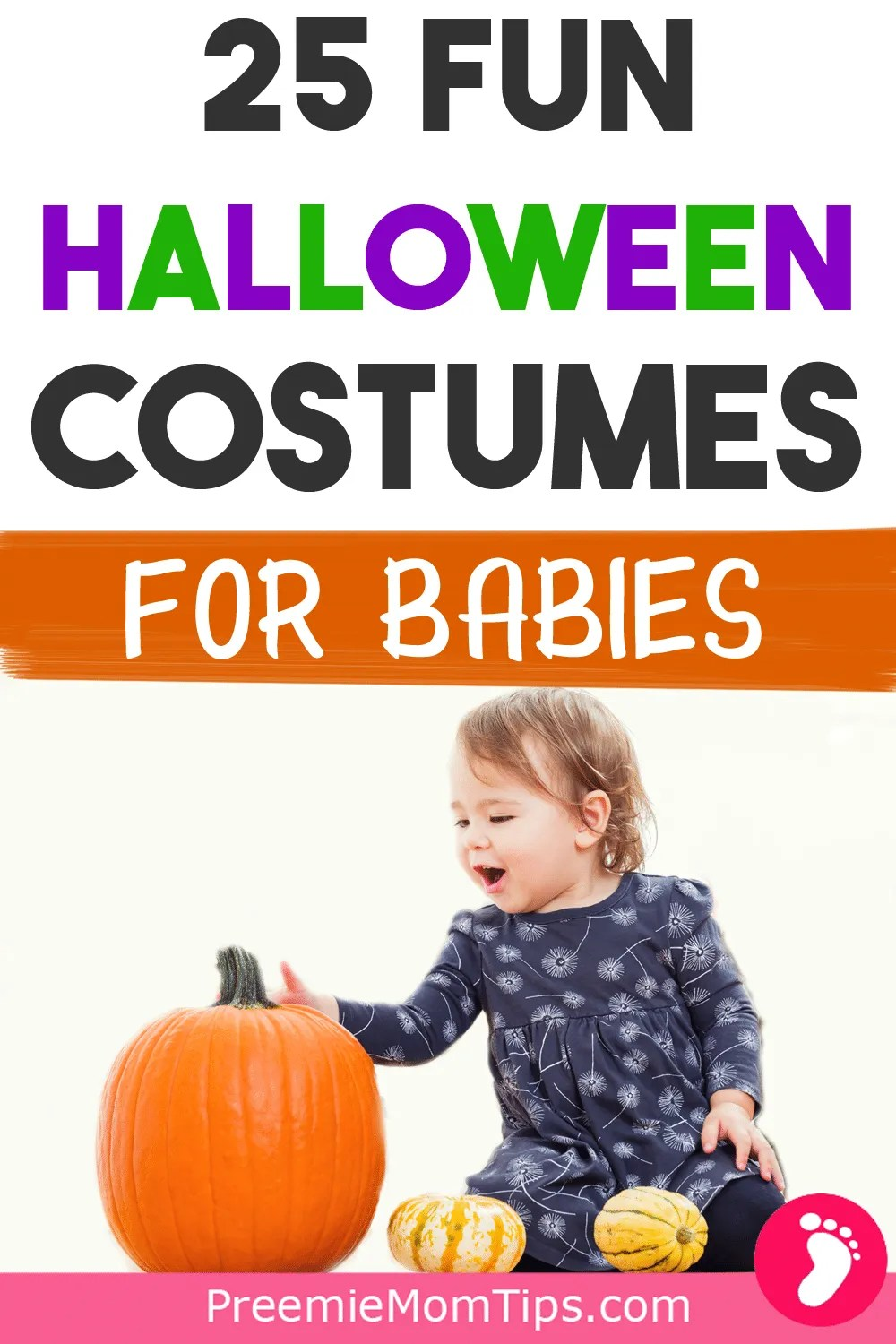Get ready to start some Halloween family traditions on your baby's first Halloween with these fun, original, and classic Halloween costume ideas for babies