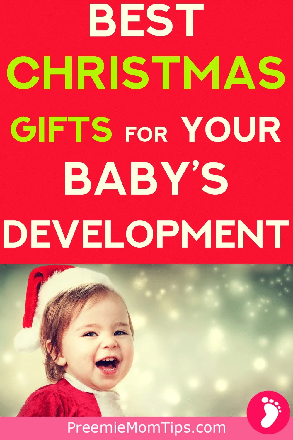 Check out these perfect gift ideas for your baby's first Christmas, they are perfect to help your baby's monthly development.