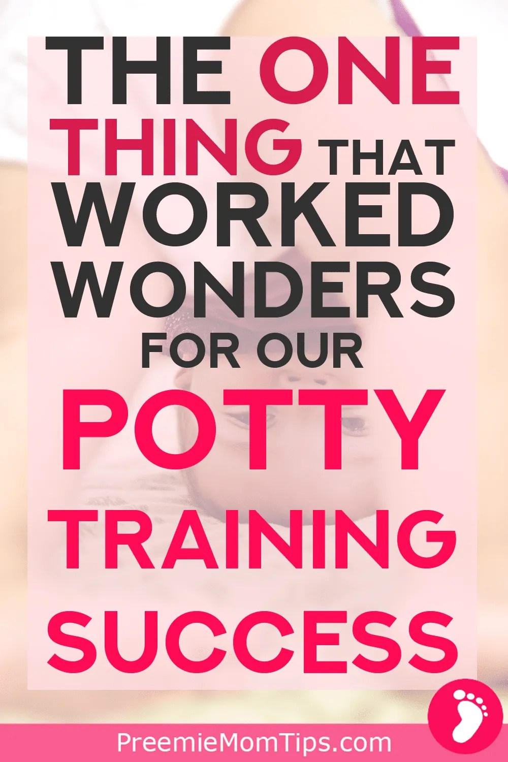 Potty training your toddler is a challenge in a whole new level! Out of all the things I tried as a first time mom, here is the one that worked the best!