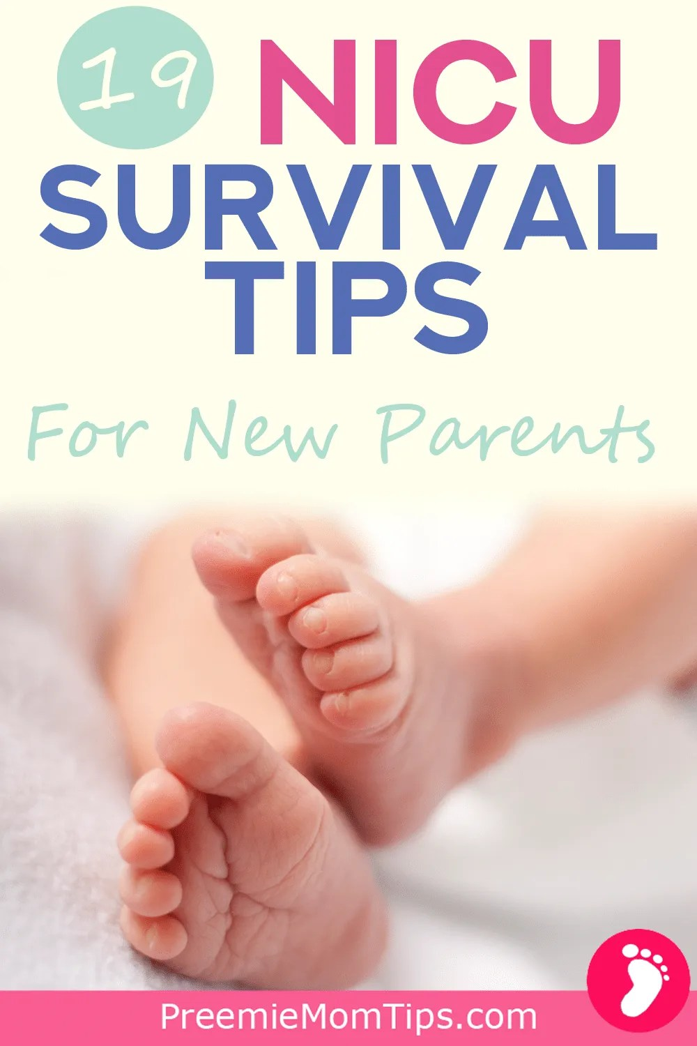 NICU hacks, tips, and tricks for new moms and dads taking care of their babies in the NICU!