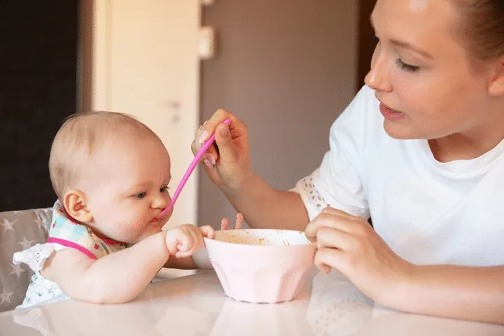 Feeding Your 4 to 6 Months old