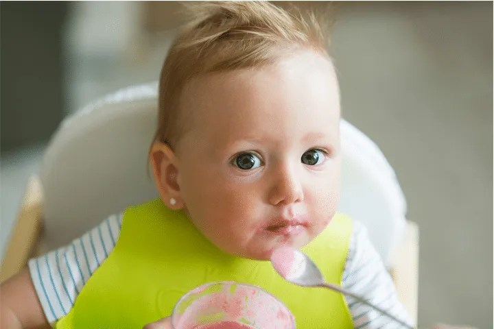 What to feed your 4 to 6 month old
