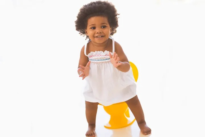 Keys to potty training success: celebrating every attempt to use the potty