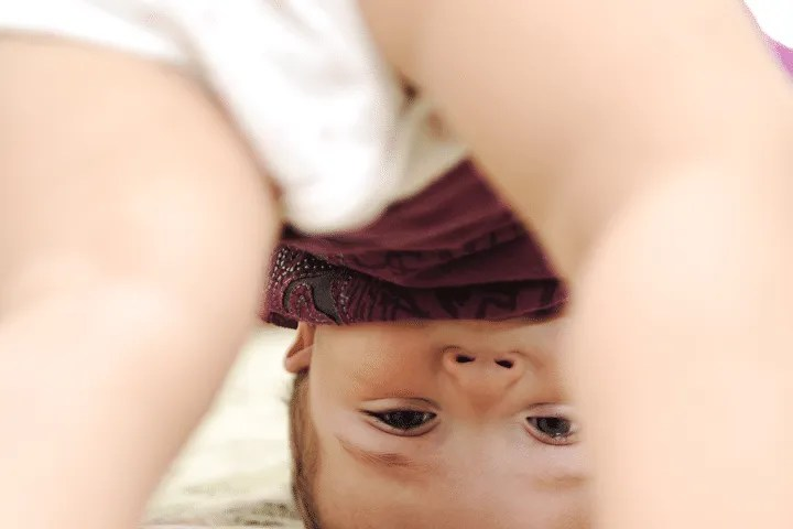 Signs that your toddler is ready for potty training: She hides to pee or poo in her diaper