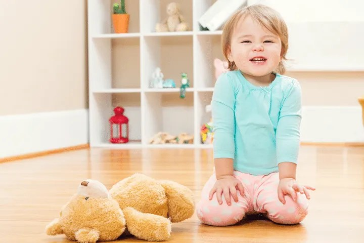 Keys to potty training success: Watch your child for signs that she is ready to being potty training.