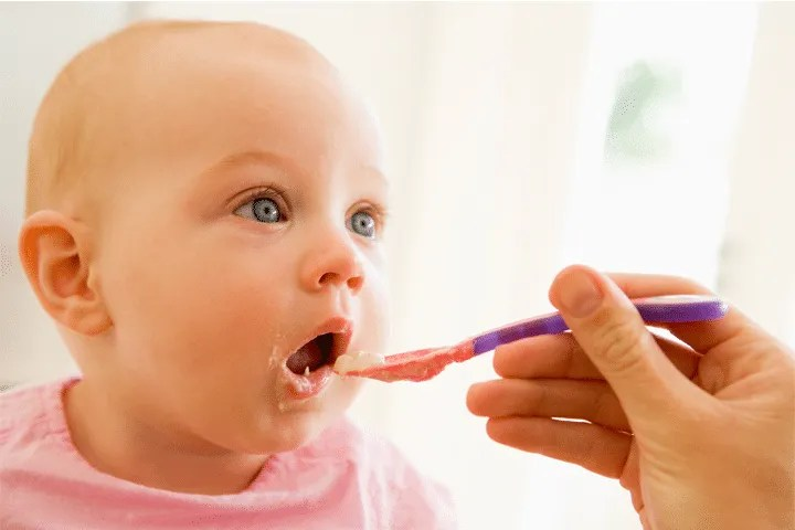 Signs that your baby is ready for Solids