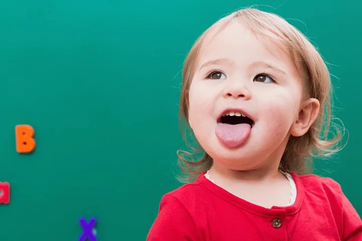 "Signs that your toddler is ready to potty train: She has a word or sign for ""pee"" and ""poo"""