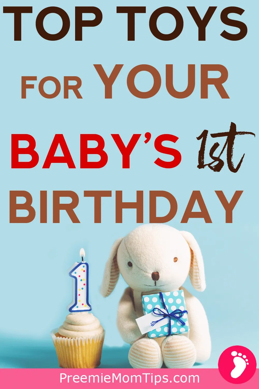 Getting ready for your baby's first birthday? Check out the best affordable toys for your baby's development!