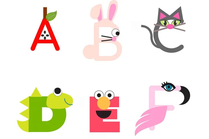 Indoor activities for kids: Printable Letter Craft