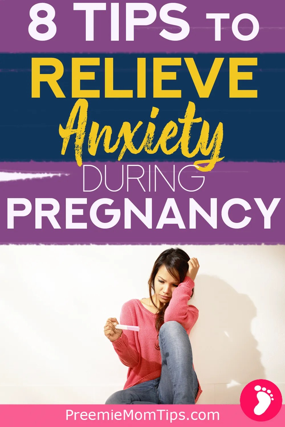 Pregnancy anxiety can be difficult to cope with! If you're expecting a baby and suspect you have anxiety, I'm sharing what I did to overcome my high risk pregnancy anxiety!