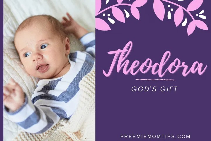 Theodora is trending among the baby names for girls.