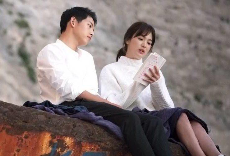 The Stars of Descendants of the Sun Song JoongKi and