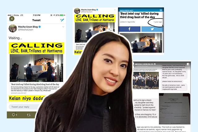 Image result for mocha pcoo fake news