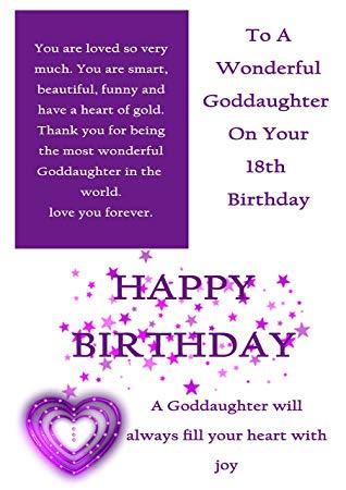 29 Best Birthday Goddaughter Wishes – Preet Kamal