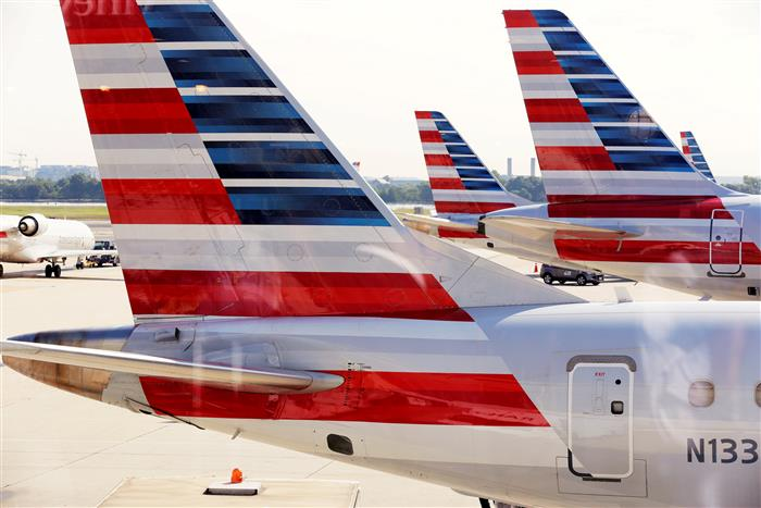 American Airlines sending 25,000 furlough notices as US demand sags