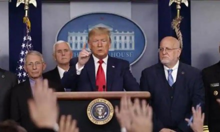 Donald Trump again shadowed by coronavirus as he enters final swing