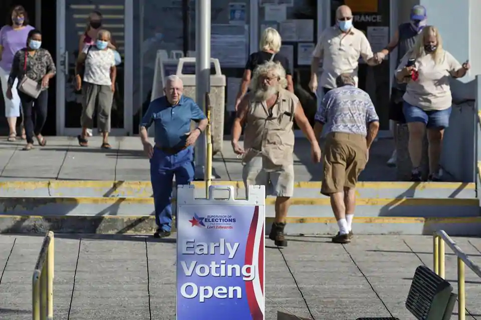 US Election 2020: Florida begins early voting, no major problems reported