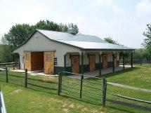 Metal Horse Barn Designs