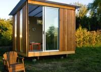 Modern sheds, cabanas, and studios