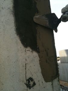 foto de reparación de pilar