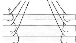 dibujo de izado de correas