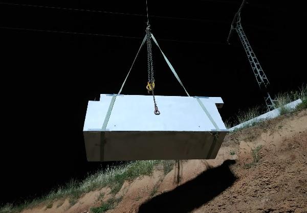 solución tras salida de anclaje para montar el muro