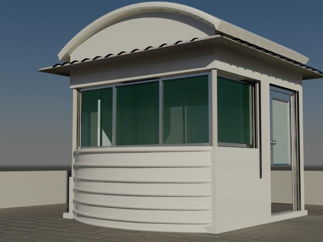 Security Cabin  Prefab UAE