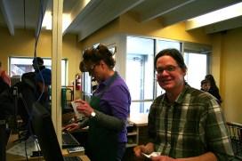 Greg Koehler, general manager, and Sara Lowe at the register. (Preface photo/Izza Jatala)