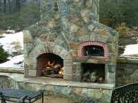 OUTDOOR GAS FIREPLACES PIZZA OVEN  Fireplaces