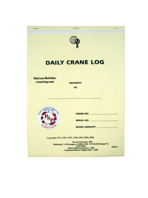 Daily Crane Log