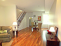 Washington DC row house after home staging