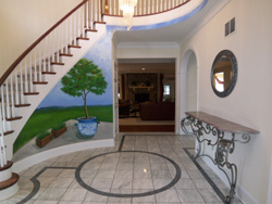 Vienna Virginia foyer before home staging