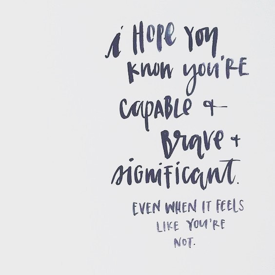 This Is What I Hope. For All Of Us. #significant…