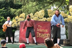 The Reluctant Dragon – a Quantum Theatre Production at Stephens House and Gardens N3
