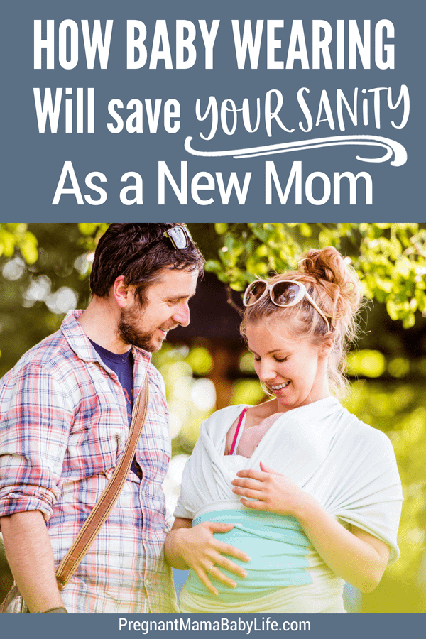 How baby wearing will save your sanity as a new mom. How a simple baby carrier can make it easier to transition to motherhood easier. Even the most needy of babies will be happy and content, while you get to be free handed, and still snuggled up close to your new baby. A must have baby product for every first time mom.