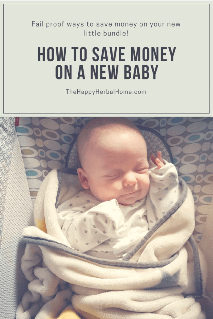 How to save money on a new baby