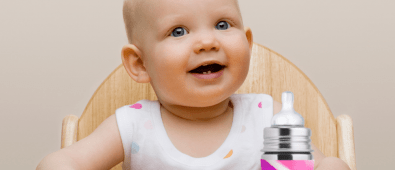 The best stainless steel baby bottle for your baby.