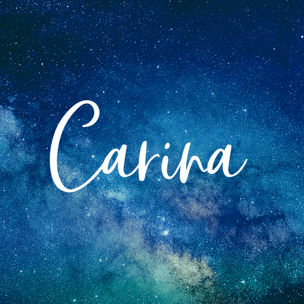 Carnia is a gorgeous baby girl space themed name.