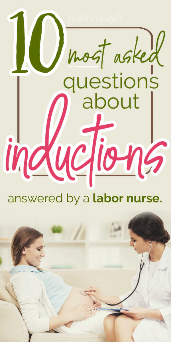What do women want to know about inductions