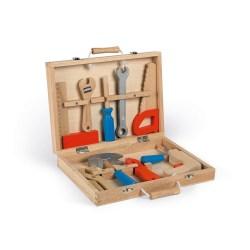 Brico'Kids Werkzeugkoffer (Holz)