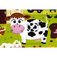 Haptik-Puzzle Bauernhof 20 Teile