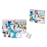 Haptik-Puzzle im Eis 20 Teile