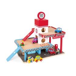 Tankstelle/ Garage (Holz)