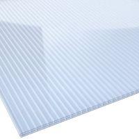 Stegplatte Polycarbonat 16 mm 1200 mm breit hellblau
