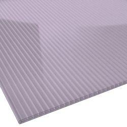 Stegplatte Polycarbonat 16 mm 980 mm breit violett