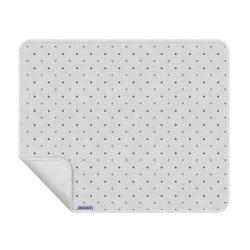Dooky Blanket - Decke / einlagig / Hellgraue Kronen